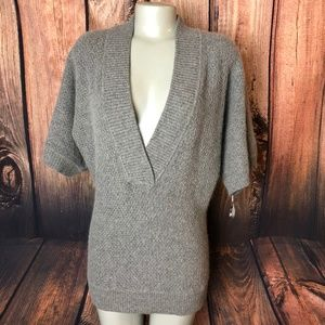 Lucky Bran Gray Wool Blend Sweater